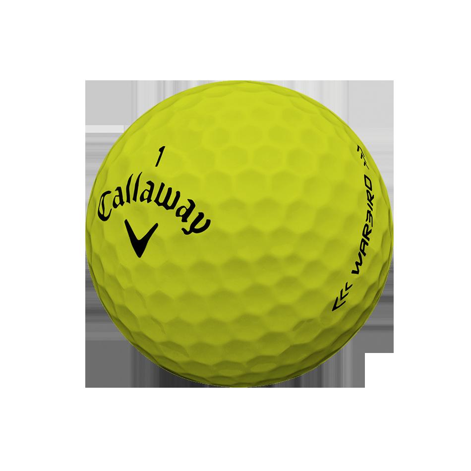 Warbird Yellow Golf Balls - Personalisiert - View 3