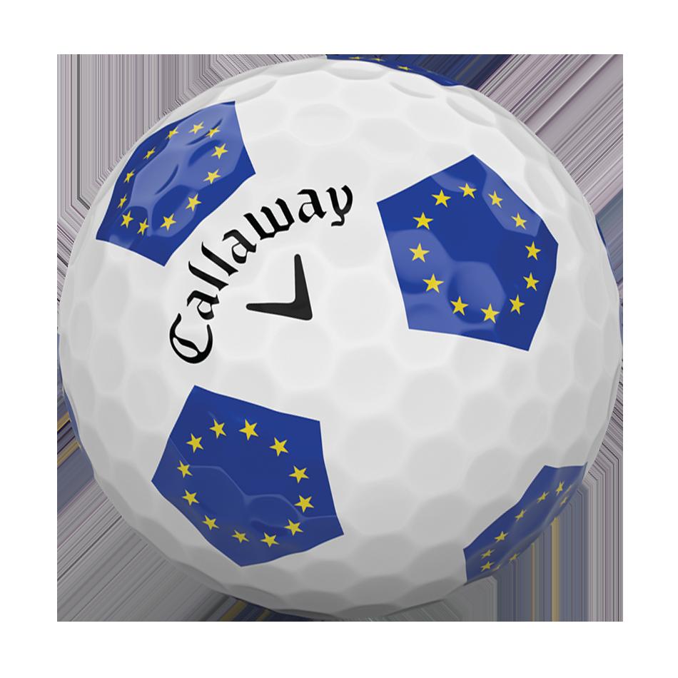 Chrome Soft European Truvis Golf Ball - View 4