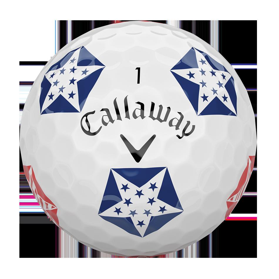 Chrome Soft Truvis Stars and Stripes 18 Golf Balls - View 3