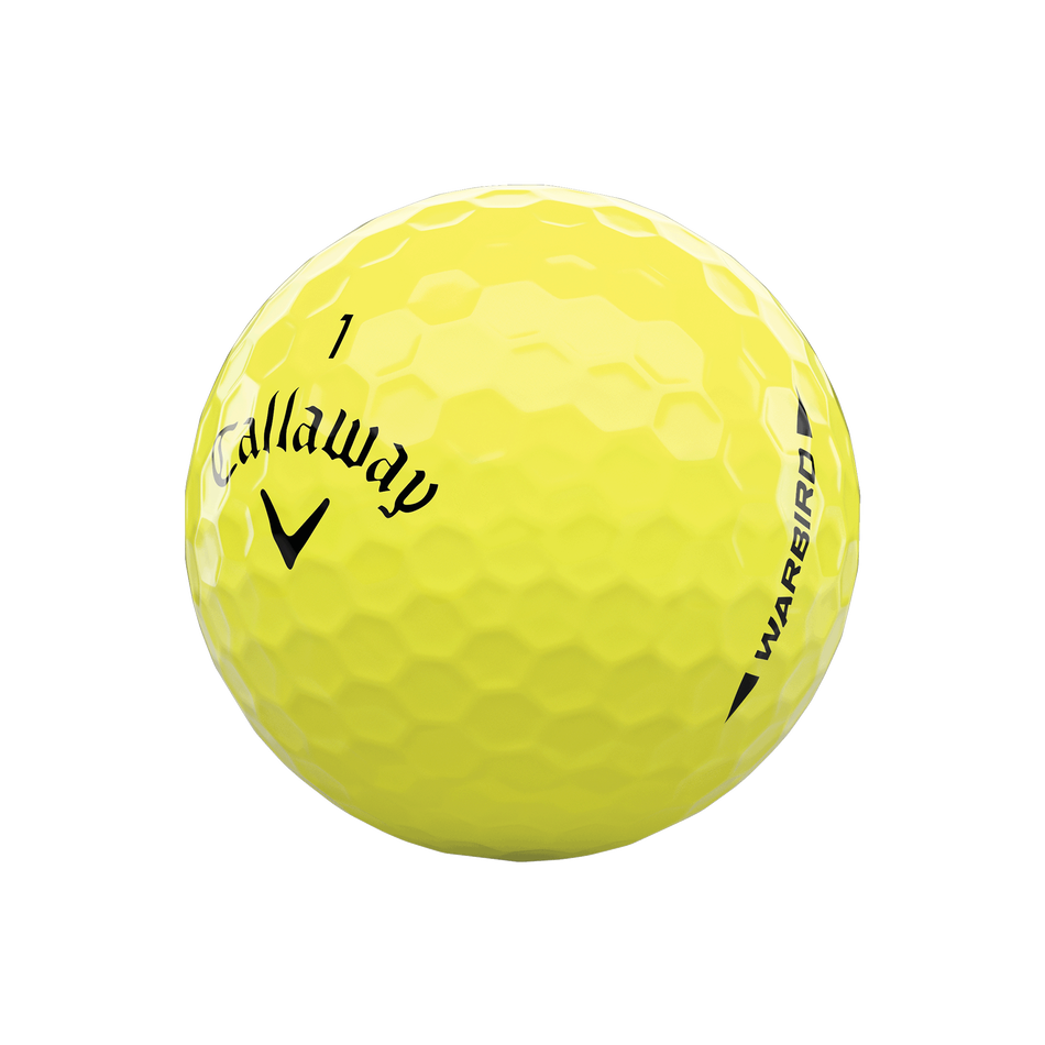 Warbird Yellow Golf Balls - View 4