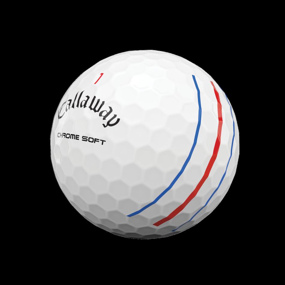Chrome Soft 2020 Triple Track Golfbälle - View 4