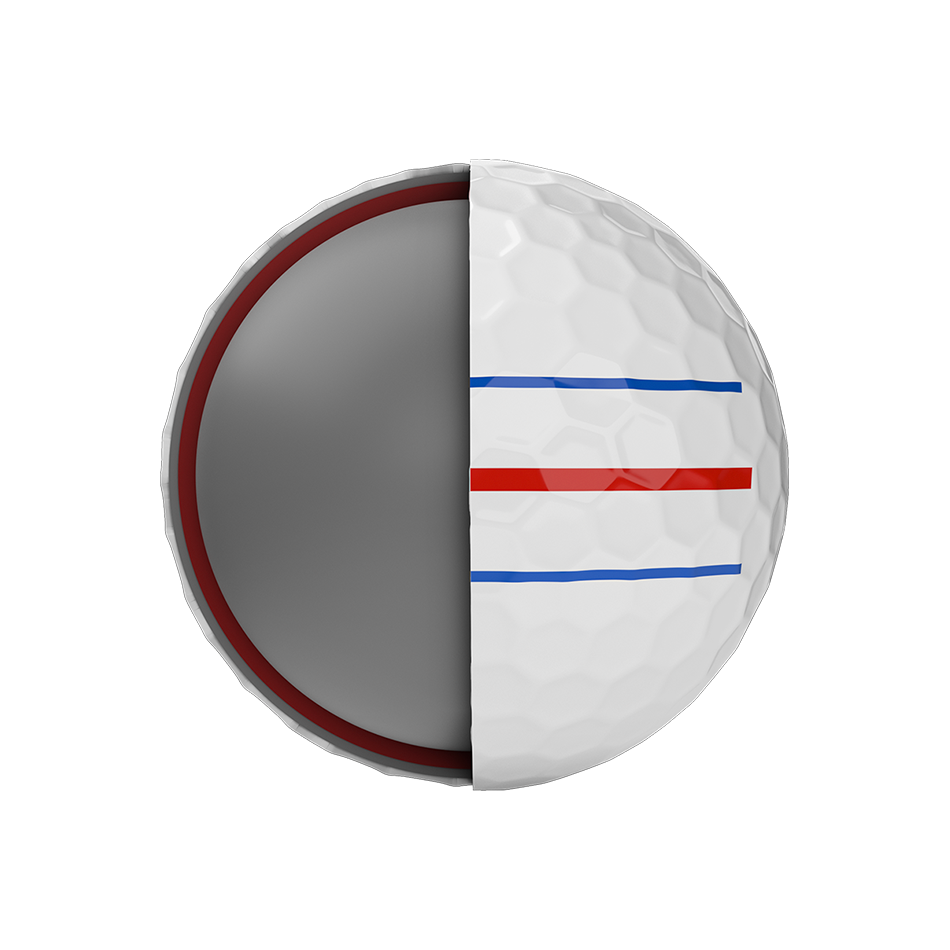 Chrome Soft X Triple Track Golfbälle - View 5