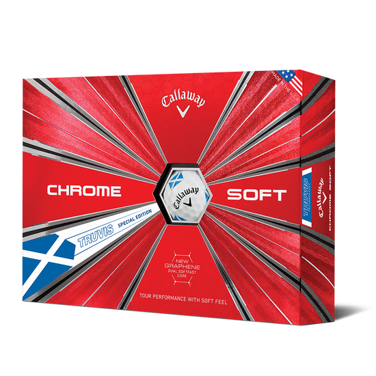 Chrome Soft Scotland Truvis Golf Balls