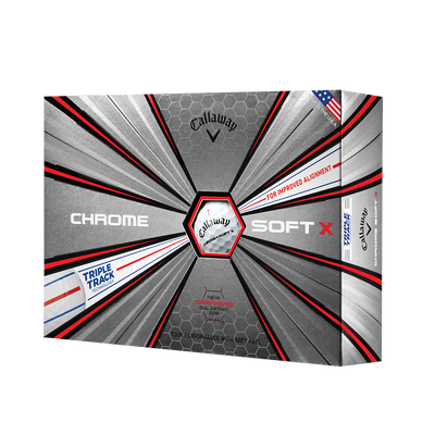 Chrome-Soft-X Triple-Track Golfbälle Thumbnail