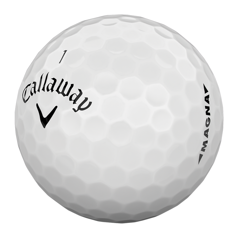 Callaway Supersoft Magna Golf Balls - Personalisiert - View 3