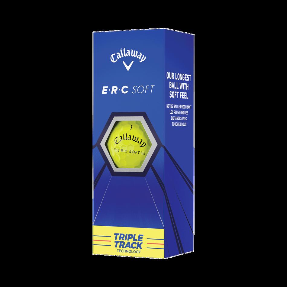E•R•C Soft Yellow Golf Balls - View 2