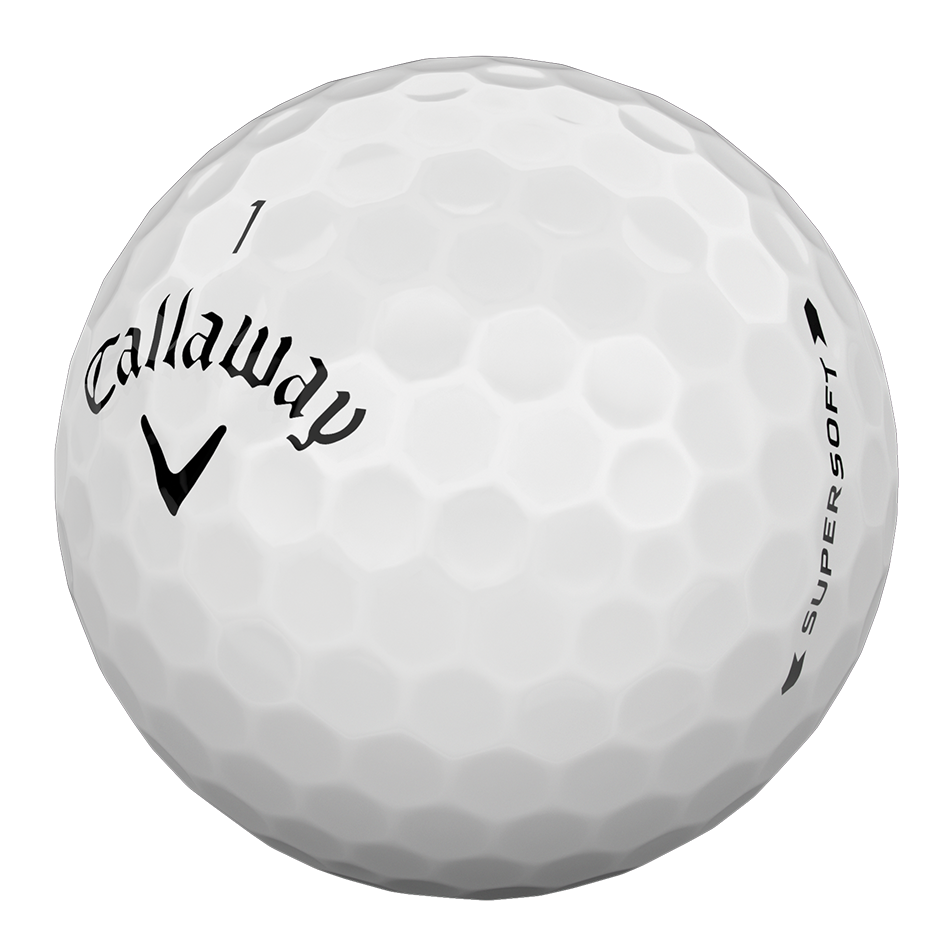 Callaway Supersoft Golf Balls - Personalisiert - View 3