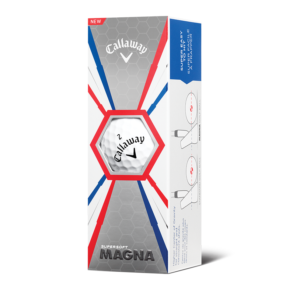 Callaway Supersoft Magna Golf Balls - Personalisiert - View 2