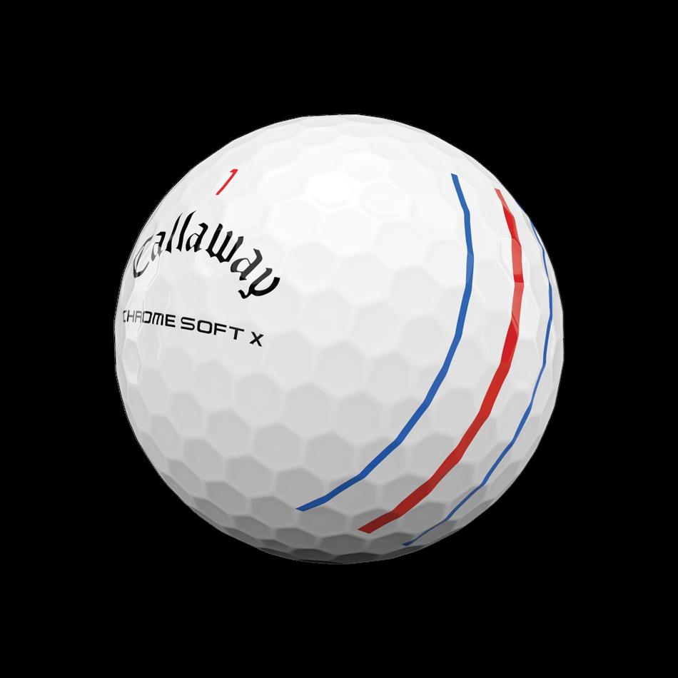 Chrome Soft X Triple Track Golfbälle - View 4