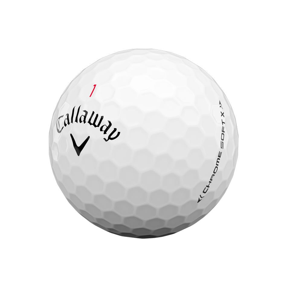 Chrome Soft X 2020 Golfbälle - View 4