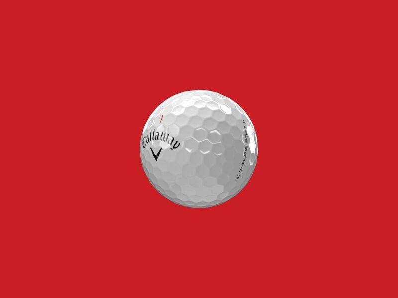 Chrome Soft 2020 Golfbälle - Featured