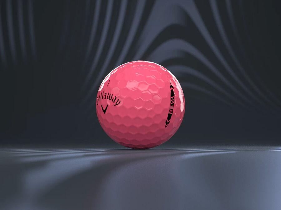REVA Pink Golf Balls - Featured