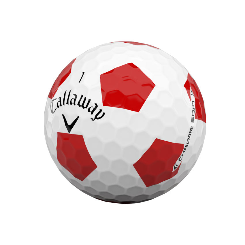 Chrome Soft Truvis Red 2020 Golfbälle - View 4
