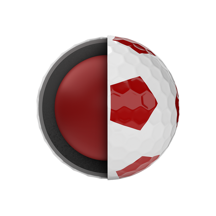 Chrome Soft Truvis Red 2020 Golfbälle - View 5