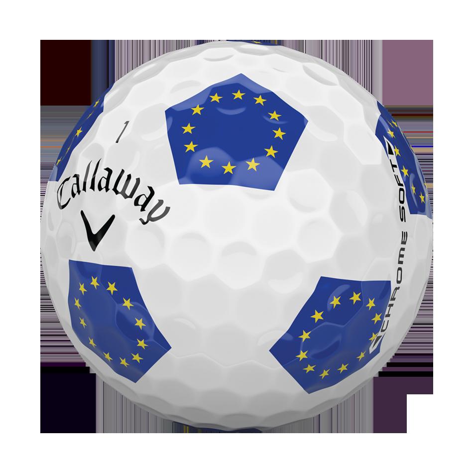 Chrome Soft European Truvis Golf Ball - View 3