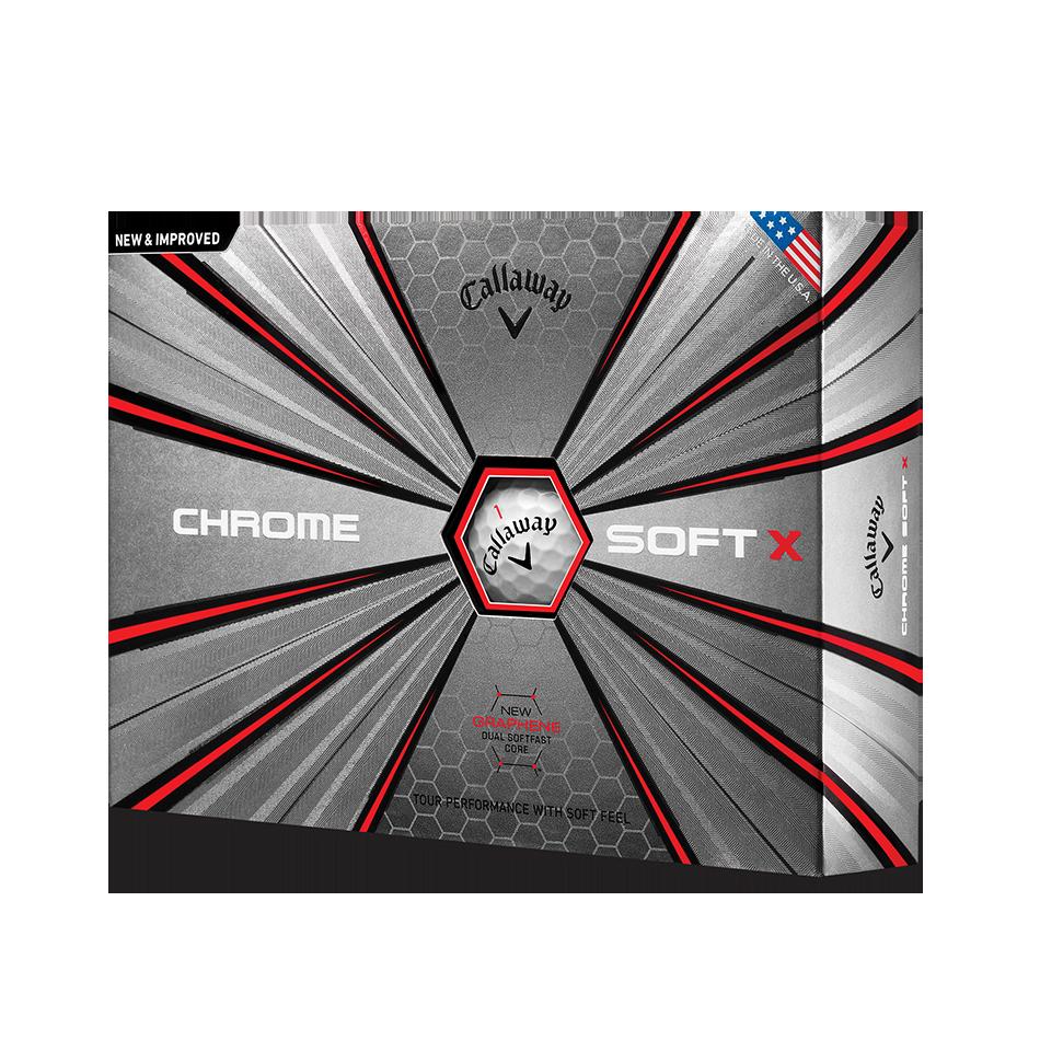 Chrome Soft X 18 Golf Balls - Personalised