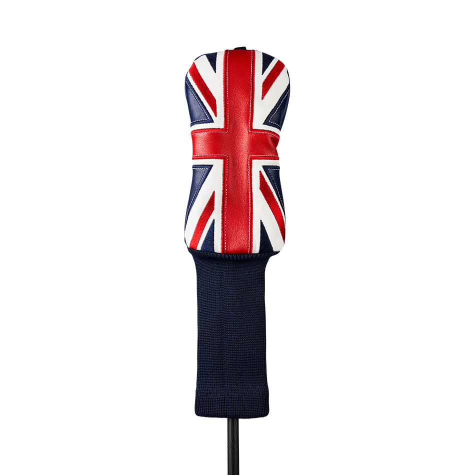 Union Jack Hybrid Headcover - Featured