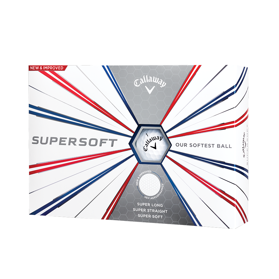 Callaway Supersoft Golf Balls - Personalised - Featured
