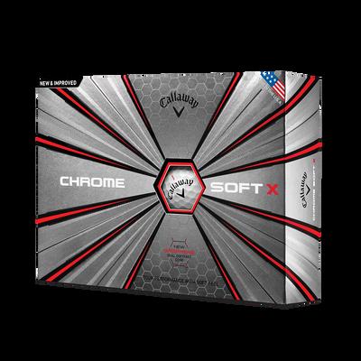 Chrome Soft X 18 Golf Balls - Personalised Thumbnail