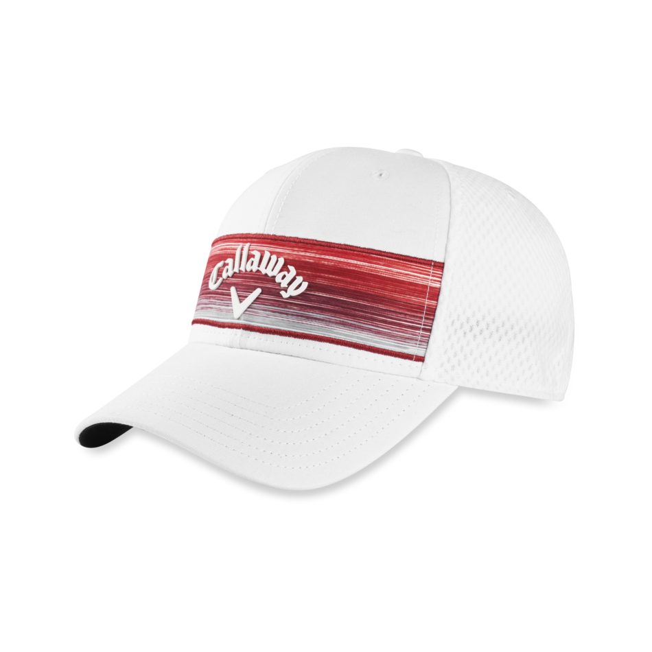 Stripe Mesh Adjustable Cap - View 1