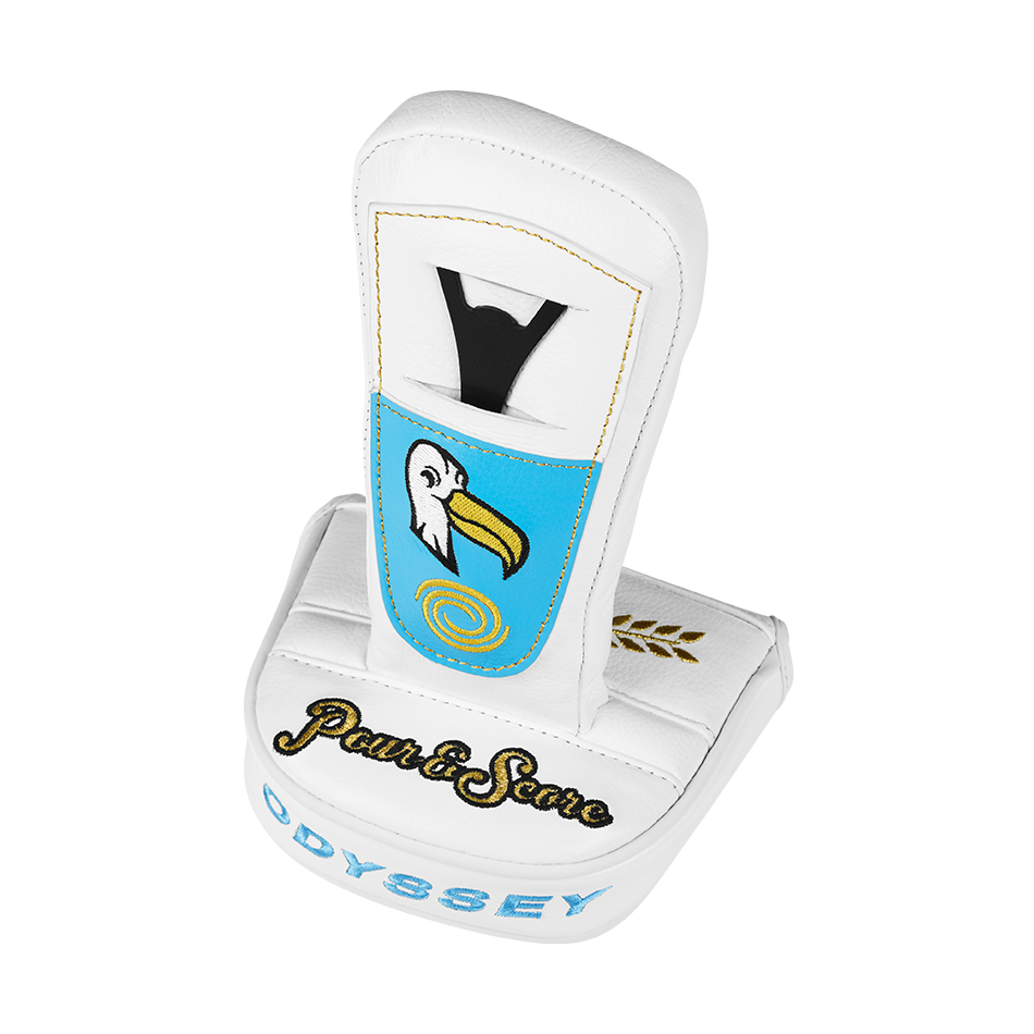 Limited Edition Odyssey Albatross Mallet Headcover - View 2