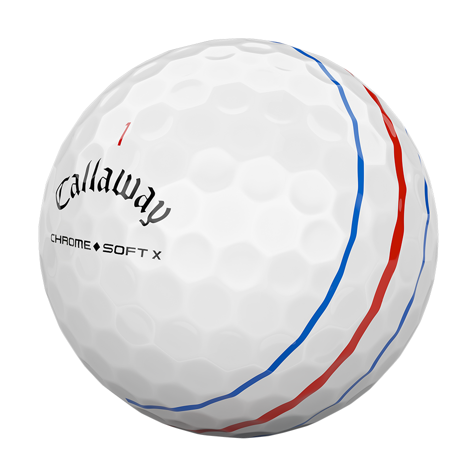 Chrome Soft X Triple Track Golf Balls - View 3