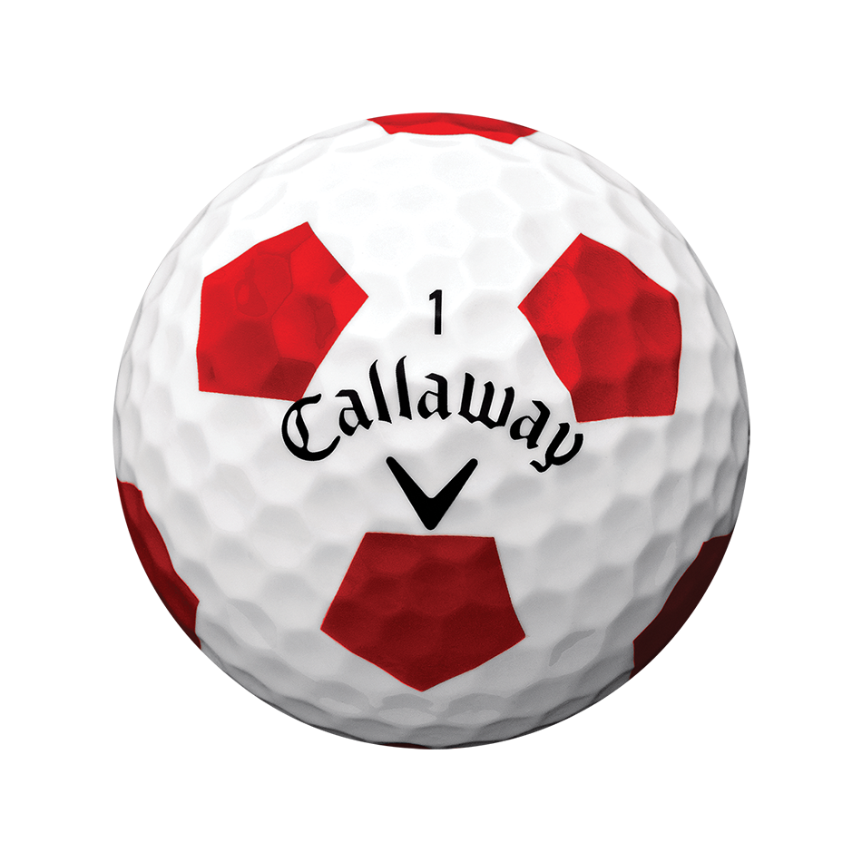 Chrome Soft X Truvis Red Golf Balls - View 2