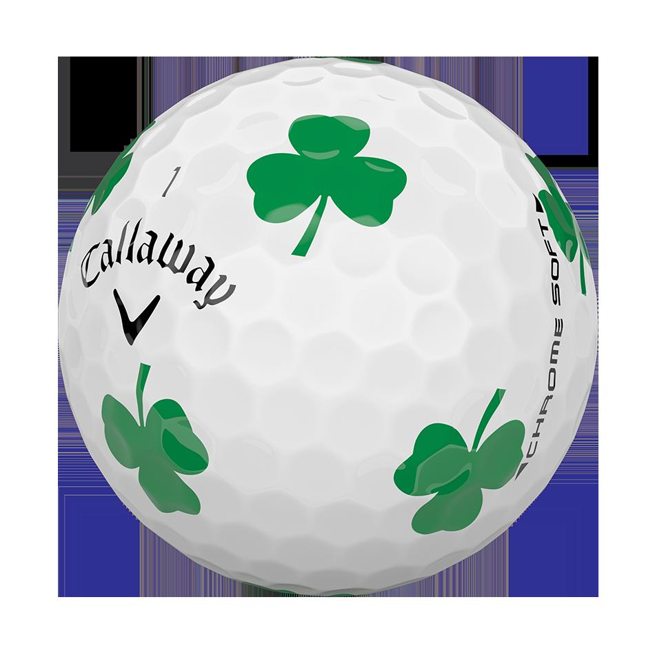 Chrome Soft Shamrock Truvis Golf Balls - View 4