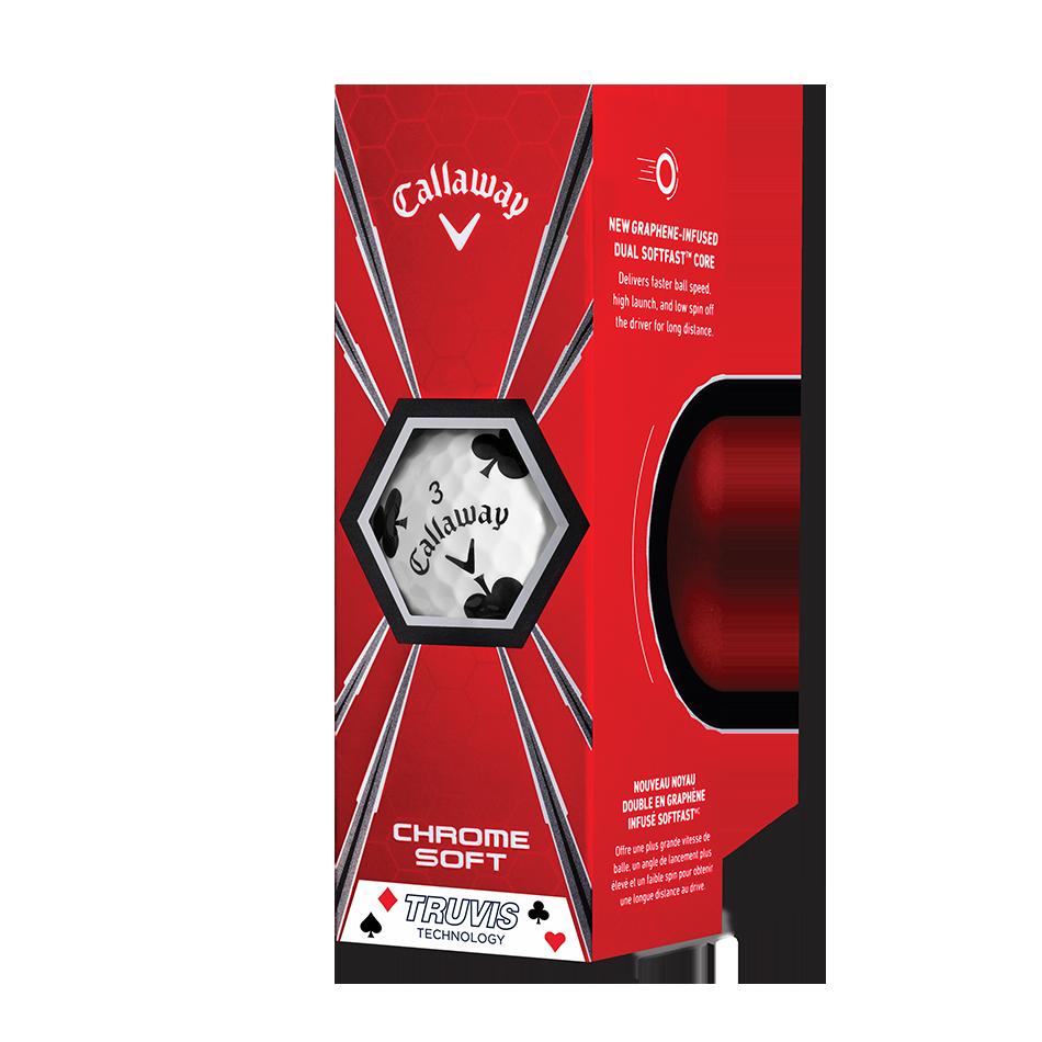 Chrome Soft Truvis Suits Golf Balls - View 3
