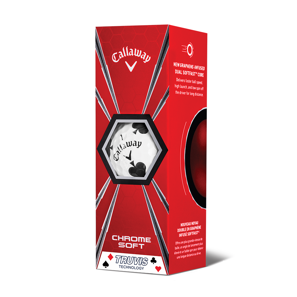 Chrome Soft Truvis Suits Golf Balls - View 9
