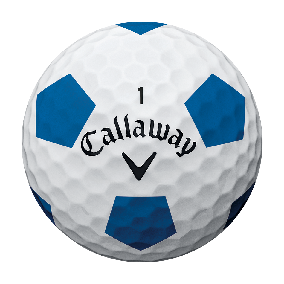 2018 Chrome Soft Truvis Blue Golf Balls - View 3