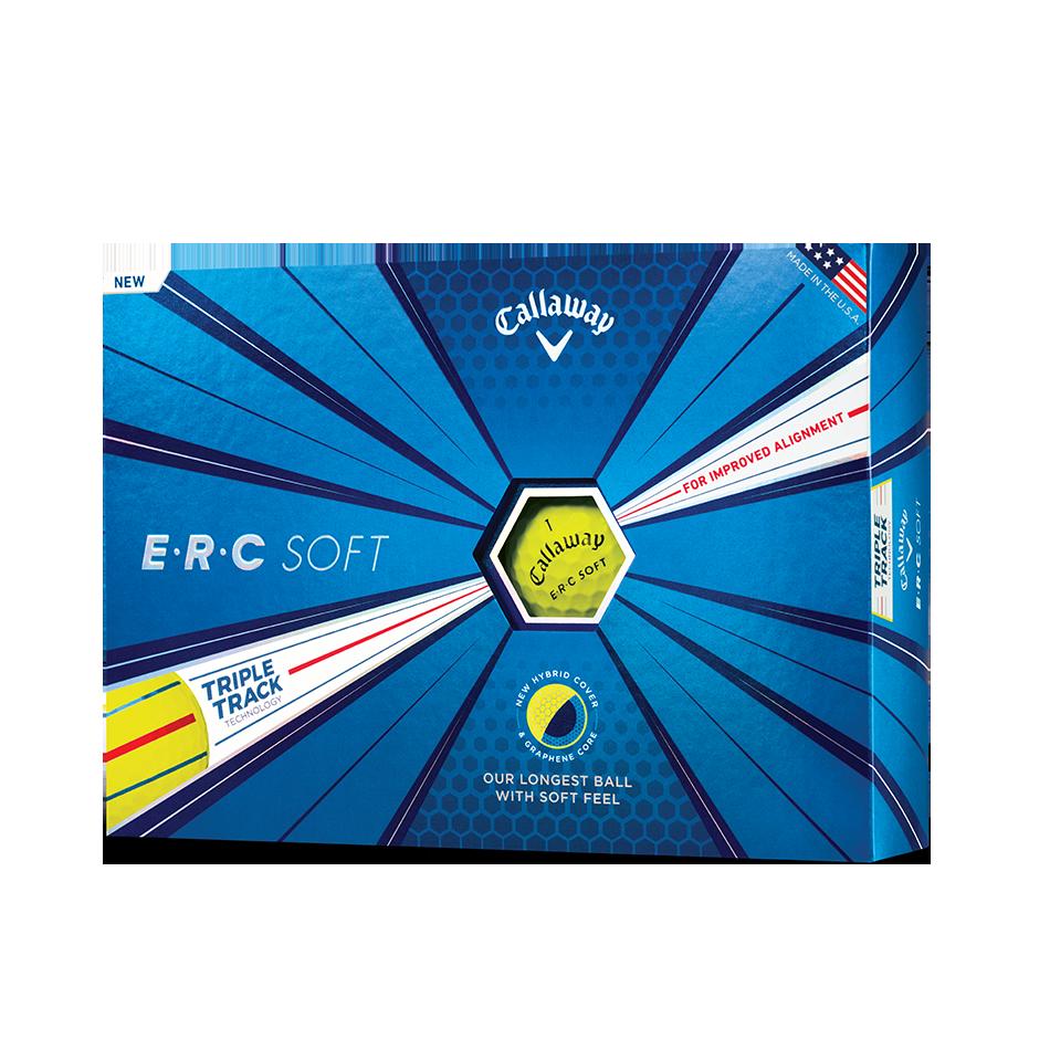 ERC Soft Yellow Golf Balls - View 1