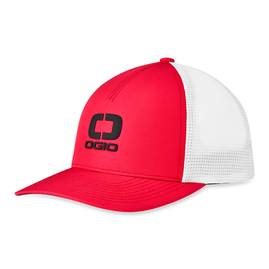 Badge Mesh Hat