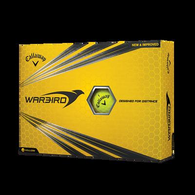 Warbird Yellow Golf Balls - Personalised Thumbnail