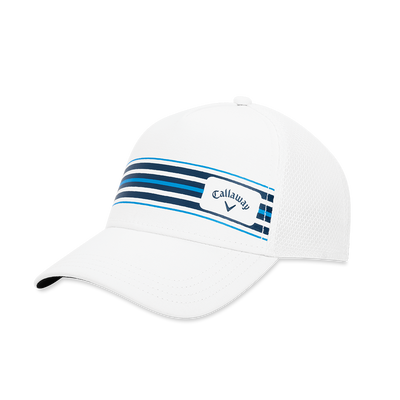 Stripe Mesh Adjustable Cap Thumbnail