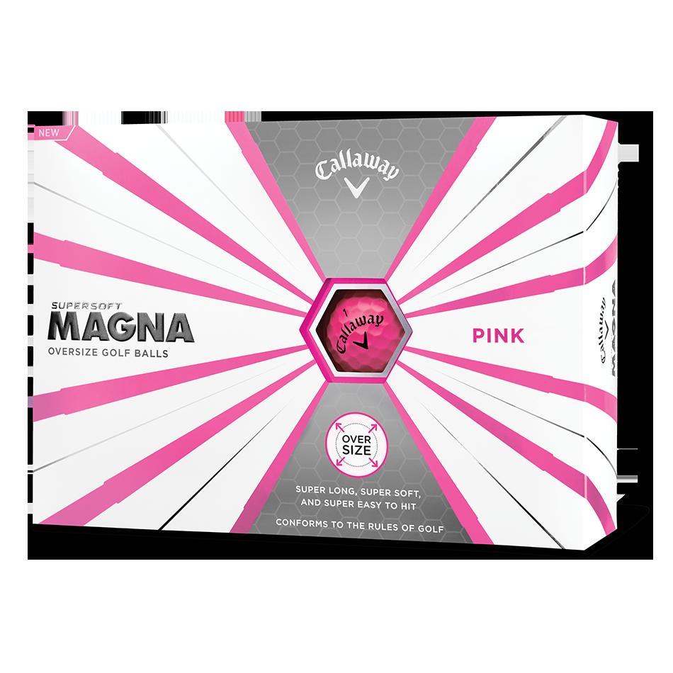 Callaway Supersoft Magna Pink Golf Balls - View 1