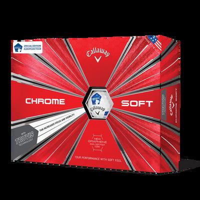 Chrome Soft Euro Tour Truvis Golf Balls Thumbnail