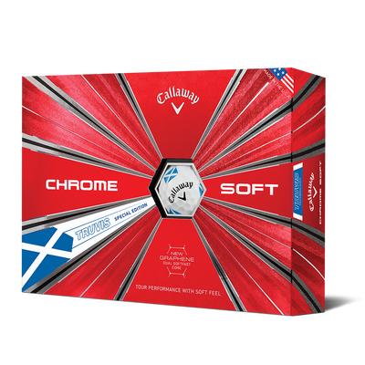 Chrome Soft Scotland Truvis Golf Balls Thumbnail