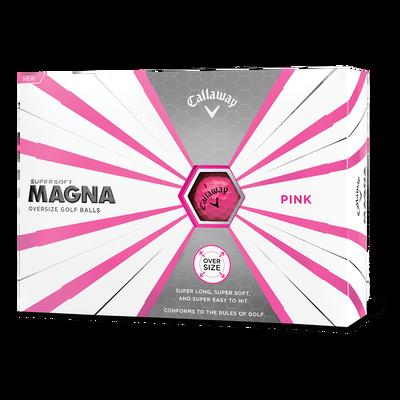 Callaway Supersoft Magna Pink Golf Balls Thumbnail