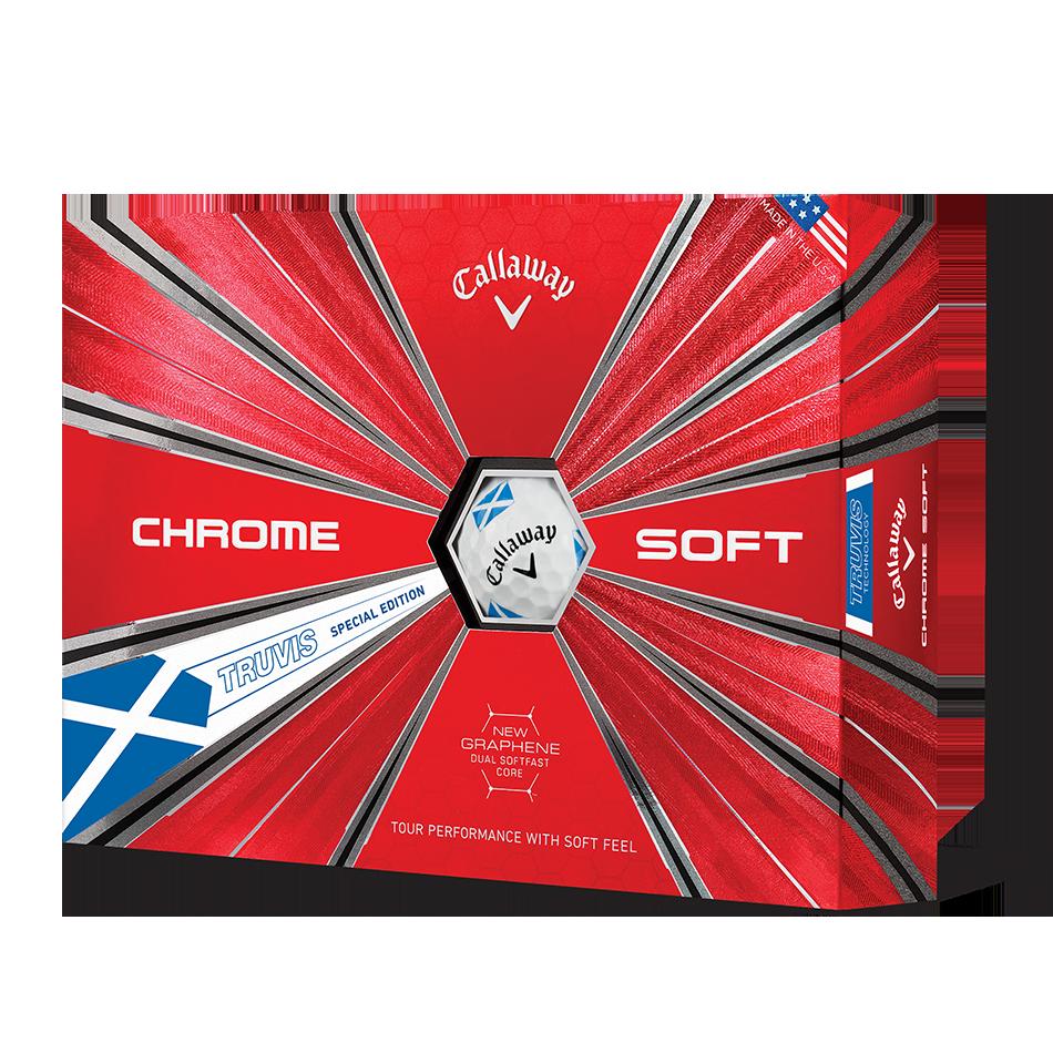 Chrome Soft Scotland Truvis Golf Balls - Featured