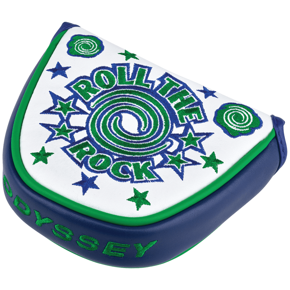 Limited Edition Roll the Rock Mallet Headcover - Featured