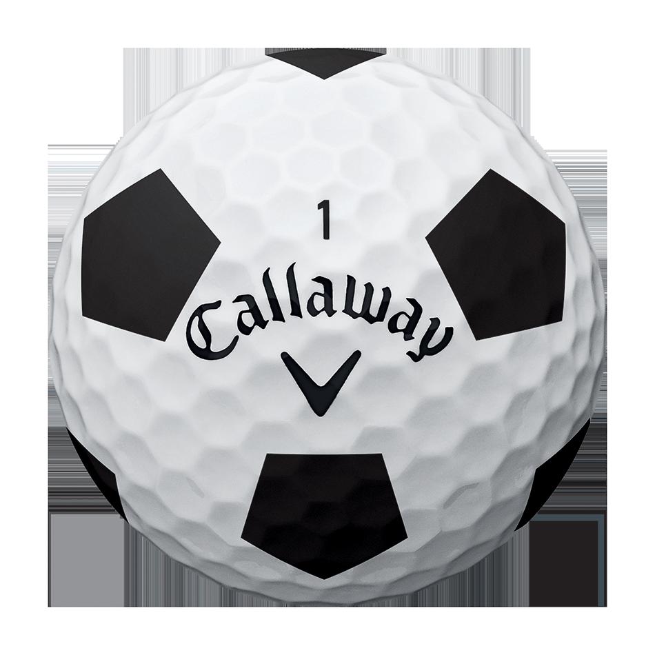 2018 Chrome Soft Truvis Black Golf Balls - View 3