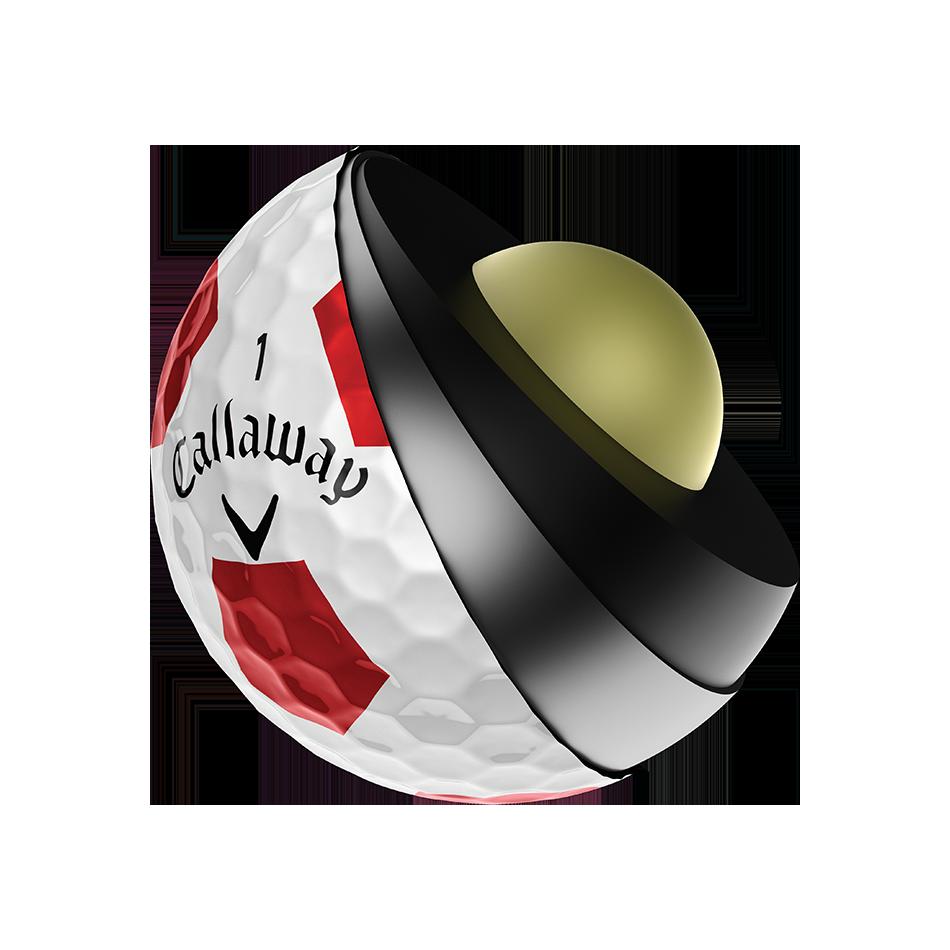 Chrome Soft X Truvis Red Golf Balls - View 3