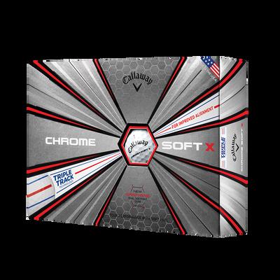 Chrome Soft X Triple Track Golf Balls Thumbnail