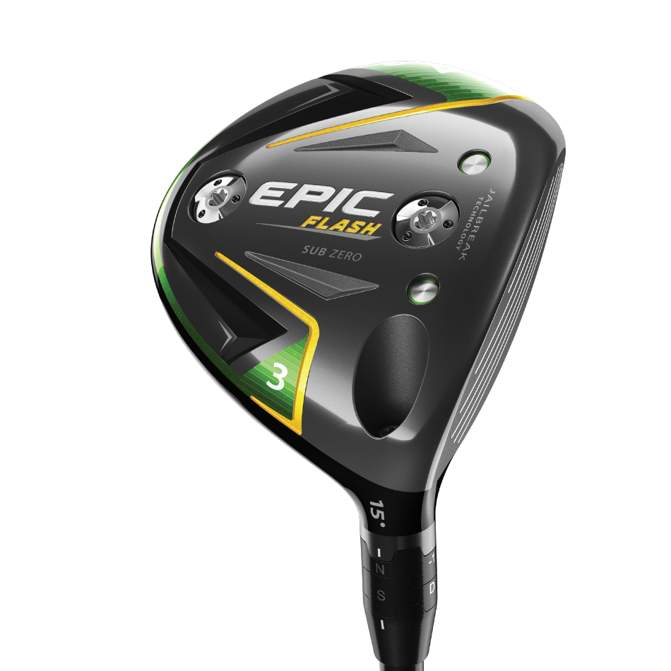 Epic Flash Sub Zero Fairway Woods - View 2