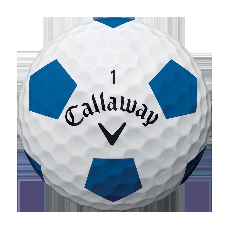 2018 Chrome Soft X Truvis Blue Golf Balls - View 3