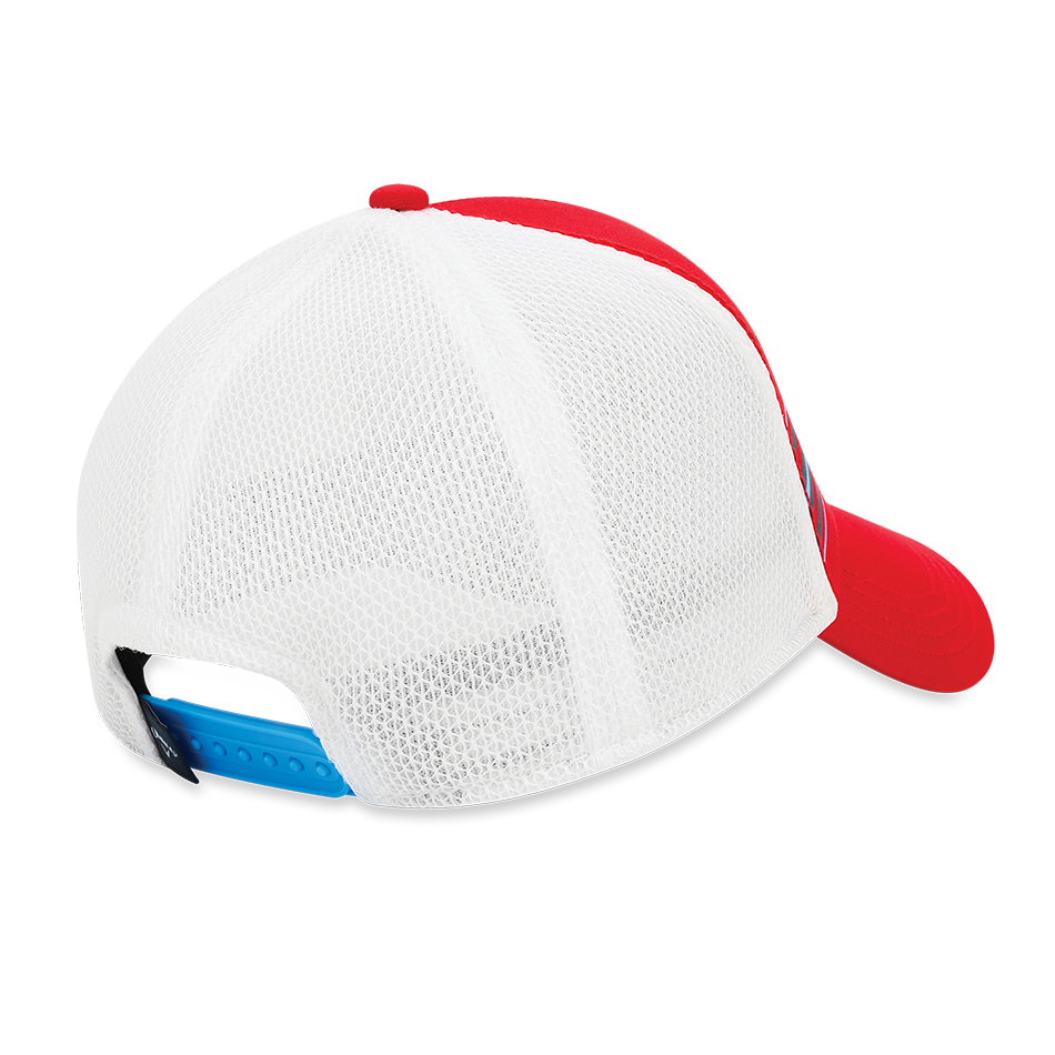 Stripe Mesh Adjustable Cap - View 2