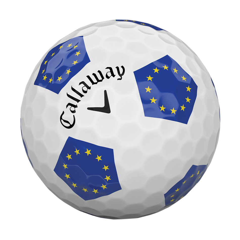 Chrome Soft European Truvis Golf Balls - View 4