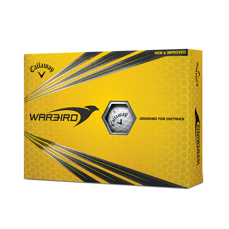Warbird Golf Balls - Personalised - Featured
