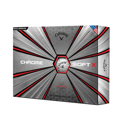 Chrome Soft X 18 Golf Balls - Personalised Thumbnail